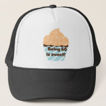 Being 60 is Sweet T-shirts and Gifts Trucker Hat