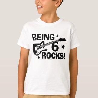 Being 6 Rocks T-Shirt