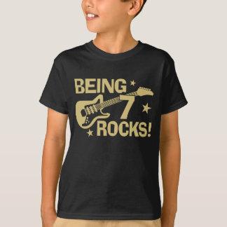 Being 7 Rocks T-Shirt