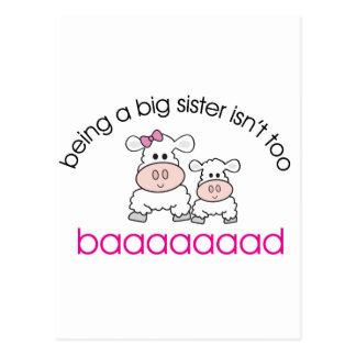 Being A Big Sister Isn't Bad Postcard