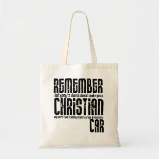 Being a Christian Tote Bag