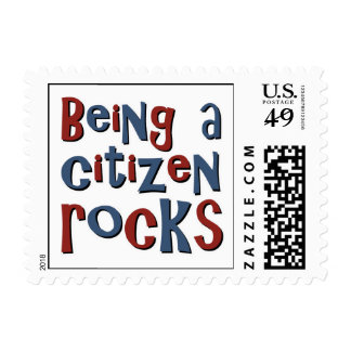Being a Citizen Rocks Stamps