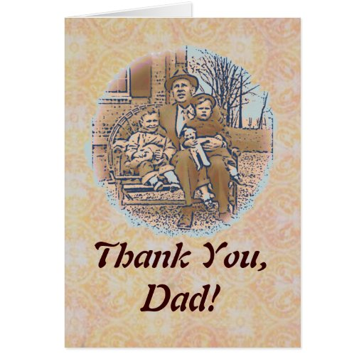 """""""Being a Dad"""" Father's Day Card"""