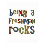 Being A Freshman Rocks Post Cards