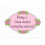 Being a Gran makes everyday Special Postcard