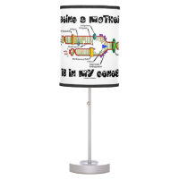 Being A Mother Is In My Genes DNA Replication Table Lamps