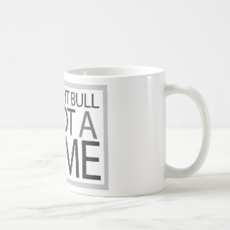 Being a Pit Bull is Not a Crime Classic White Coffee Mug