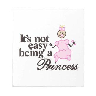 Being a Princess Notepad