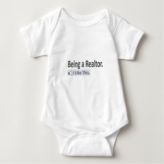 Being a Realtor...I Like This Baby Bodysuit