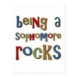 Being A Sophomore Rocks Postcard