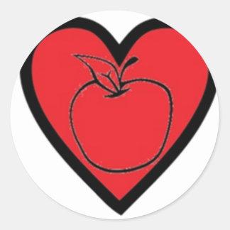 Being a Teacher Classic Round Sticker