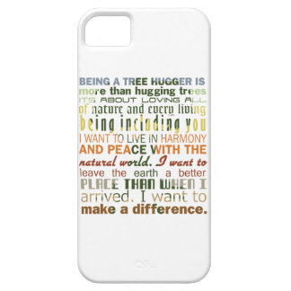 Being a Tree Hugger iPhone 5 Covers