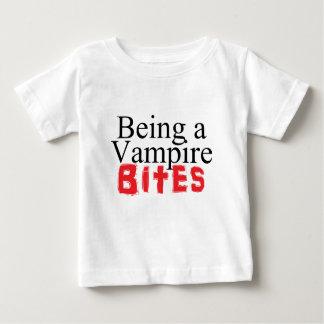Being a Vampire Bites Baby T-Shirt