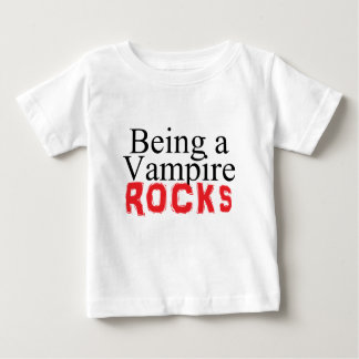 Being a Vampire Rules Baby T-Shirt