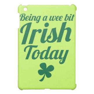 Being a wee bit Irish today St Patricks day design iPad Mini Covers