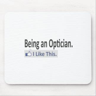 Being an Optician ... I Like This Mouse Pad