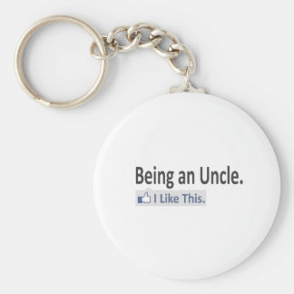Being an Uncle...I Like This Keychain