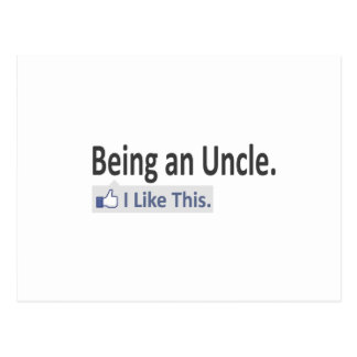 Being an Uncle...I Like This Postcard
