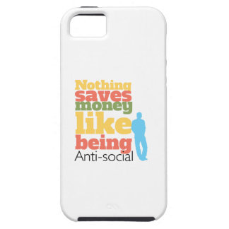 Being Anti Social iPhone 5 Covers