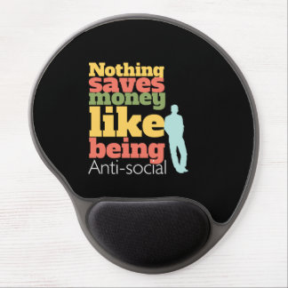 Being Anti Social Gel Mouse Pads