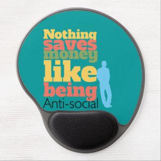 Being Anti Social Gel Mousepads