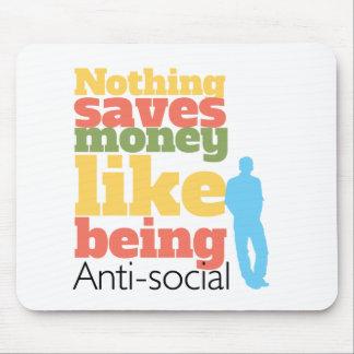 Being Anti Social Mousepad