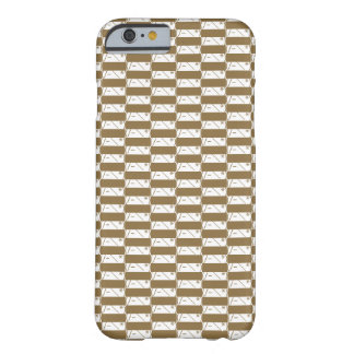 Being bashful lattice (road thought brown) barely there iPhone 6 case