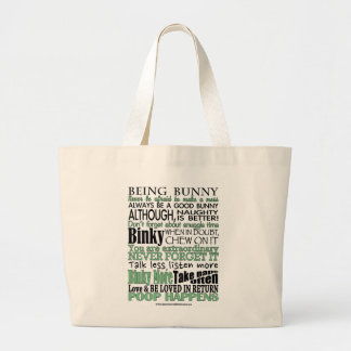 """""""Being Bunny"""" Tote bag"""