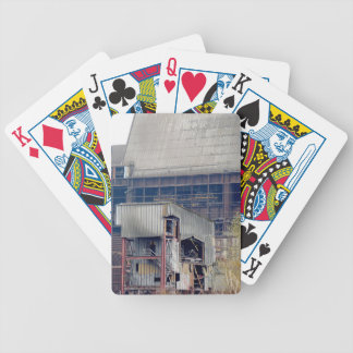 Being Destroyed Factory 2 Bicycle Playing Cards