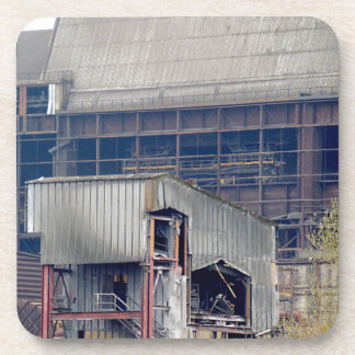 Being Destroyed Factory 2 Drink Coaster