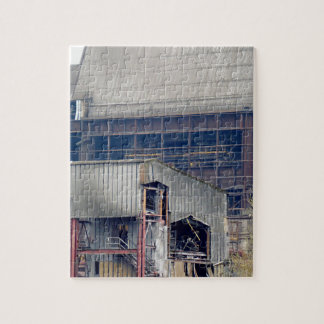Being Destroyed Factory 2 Jigsaw Puzzle