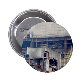 Being Destroyed Factory 2 Pinback Button