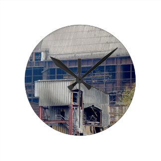 Being Destroyed Factory 2 Round Clock