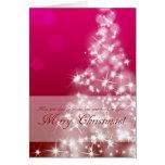 Being elegant, kirakira the Christmas card