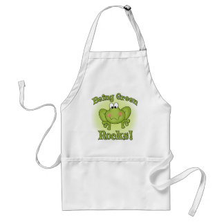 Being Green Rocks Adult Apron