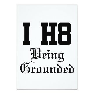 being grounded card