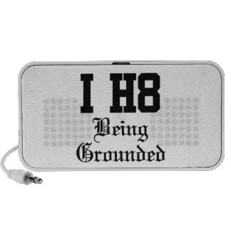 being grounded laptop speakers