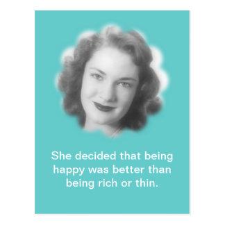 Being Happy, Fun Vintage Photo Postcards