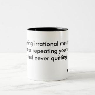 Being irrational mug