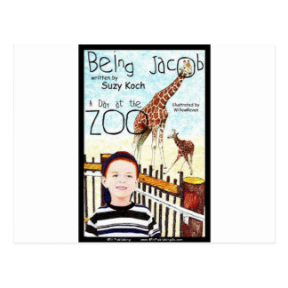 Being Jacob A Day at the Zoo Postcard