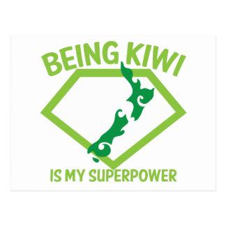 Being KIWI is my Superpower! Postcard