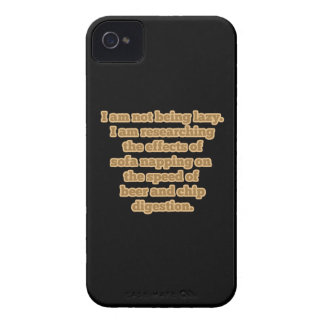 Being Lazy for Science iPhone 4 Cover