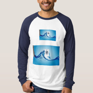 Being like water double tap chinese shirt