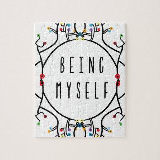 Being myself jigsaw puzzle