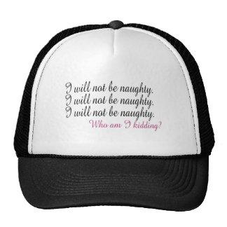 Being Naughty Trucker Hat