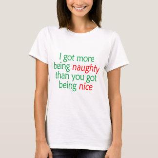 Being Naughty T-Shirt