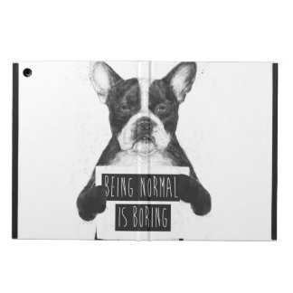Being normal is boring iPad air case