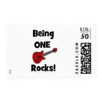 Being One Rocks!  with Guitar Postage