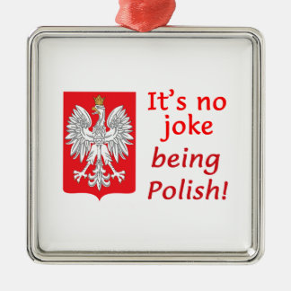 Being Polish Metal Ornament