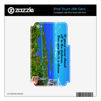 Being reflective, Inspirational iPod Touch 4G Skin